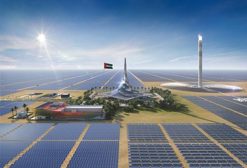 """Résultat de recherche d'images pour """"دبي تضيف 200 ميجاوات من الطاقة الشمسية لترفع نسبة الطاقة النظيفة إلى 4% من إجمالي القدرة المركبة"""""""