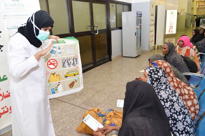 Health inspection center at Jeddah Port welcomes first batch of Hajj