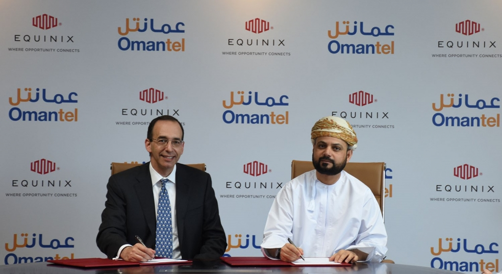 Equinix And Omantel Enter Agreement To Build New Equinix Data Center