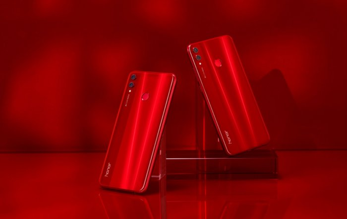 Honor 8x Shows Off a New Shade of Red - Eye of Riyadh
