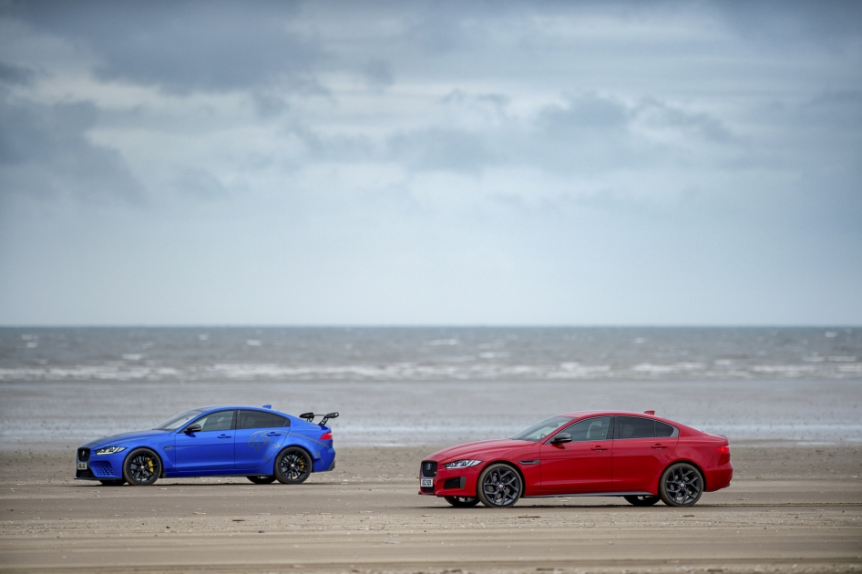 Two Cars, One Dna: Jaguar Xe 300 Sport and Sv Project 8