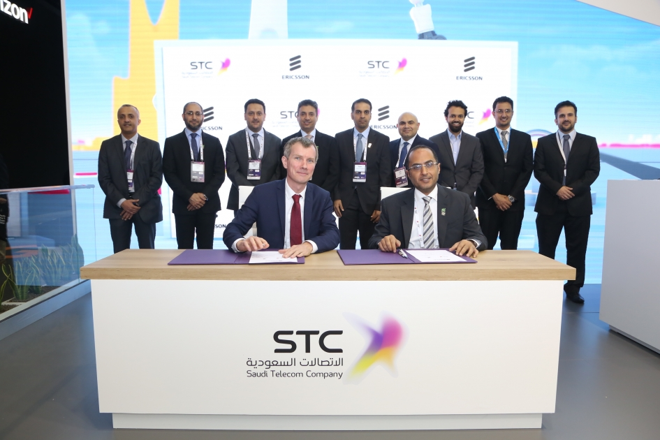 STC Collaborates with Ericsson to Accelerate 5G use-case