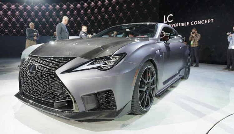 2020 Lexus Rc F And Rc F Track Edition Debut In Detroit Eye Of Riyadh