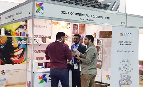Sona Commercial LLC participates in Saudi Print & Pack 2019 - Eye of