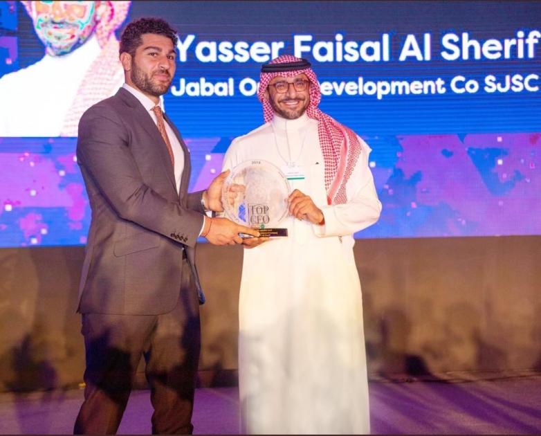 Yasser Alsharief of Jabal Omar Development Company Wins Top Ceo
