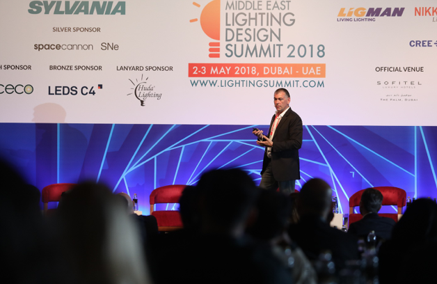 Middle east lighting design summit with ligman as the platinum