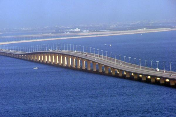 King Fahd Causeway expansion on track | THE DAILY TRIBUNE ... |King Fahd Causeway Curvature