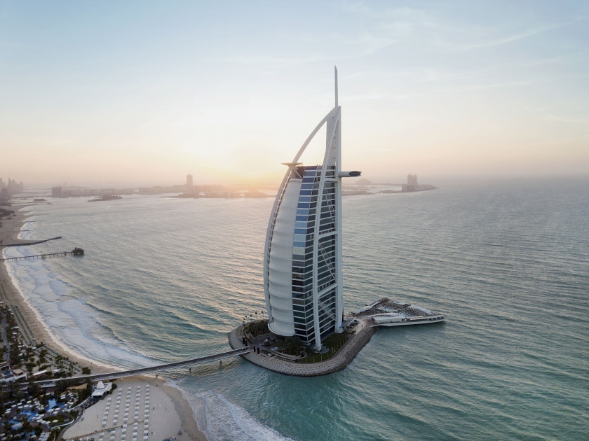 """""""برج العرب جميرا"""" يحصد لقب """"فندق المدينة الأول في منطقة الشرق الأوسط وشمال أفريقيا """" من مجلة """"السفر والسياحة"""" الرائدة في الولايات المتحدة"""
