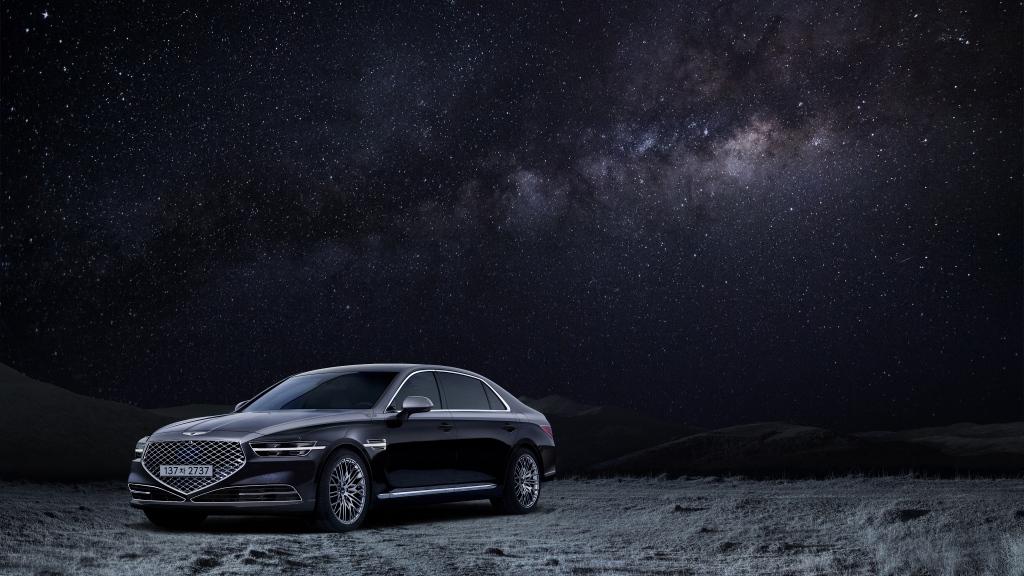 جينيسيس تطرح إصدار خاص من سيارتها طراز G90 تحت اسم Stardust