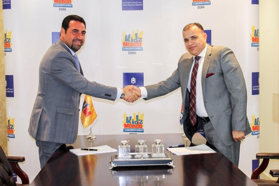 Kidzmondo Doha Signs Partnership Agreement With Abdul Samad Al