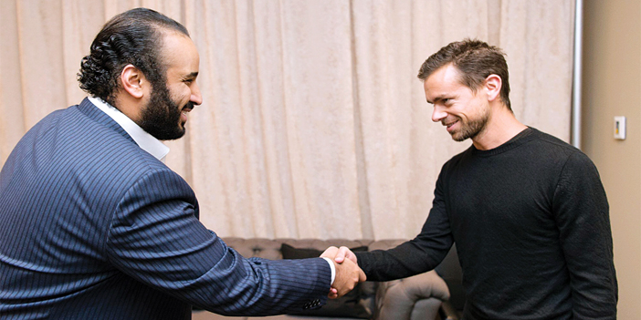 Saudi Deputy Crown Prince Meets With Twitter S Ceo Eye