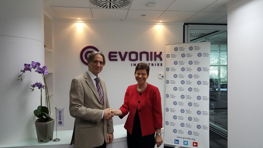 Evonik And The Gcc Board Directors Institute Sign Partnership