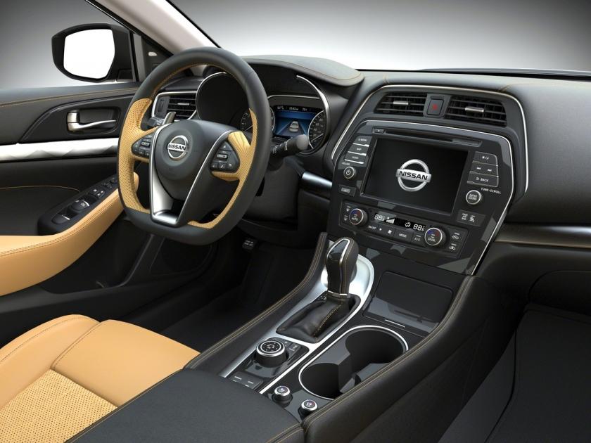 2016 Maxima Interior >> Nissan Maxima Named To 2016 Wards 10 Best Interior List Eye Of